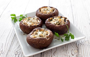 Stuffed mushrooms - calories, nutrition, weight
