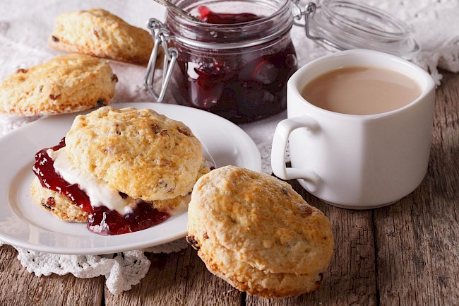 Scone - calories, kcal