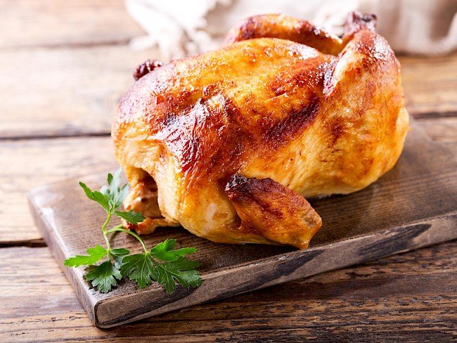 Roasted chicken - calories, kcal