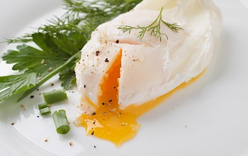 Poached egg - calories, nutrition, weight