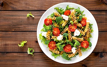 Pasta salad - calories, nutrition, weight