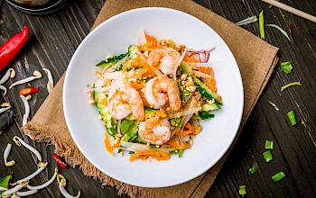Shrimp salad - calories, nutrition, weight
