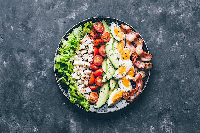 Cobb salad - calories, kcal
