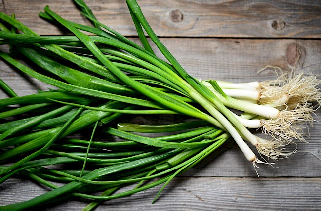 Green onions - calories, kcal