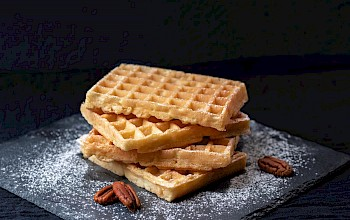 Belgian waffle - calories, nutrition, weight