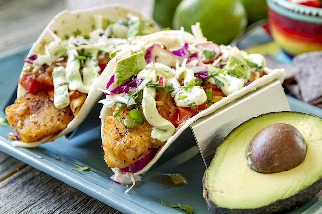 Fish taco - calories, kcal