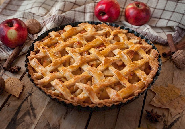 Apple pie - calories, kcal
