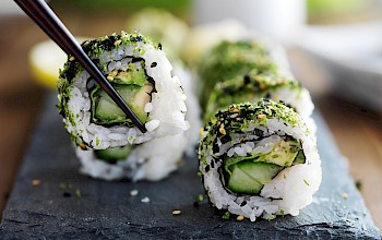 Avocado sushi roll - calories, nutrition, weight