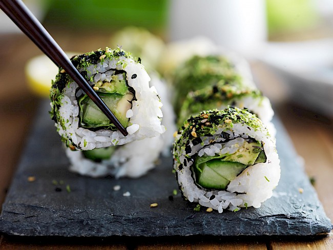 Avocado sushi roll - calories, kcal