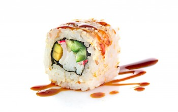 California sushi roll - calories, nutrition, weight