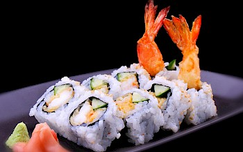 Shrimp sushi roll - calories, nutrition, weight