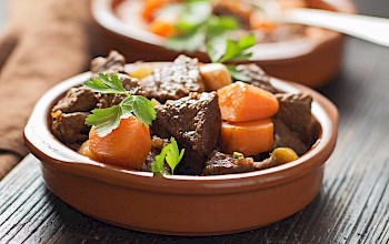 Pot roast - calories, nutrition, weight