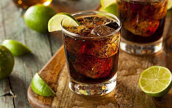 Rum and cola - calories, nutrition, weight