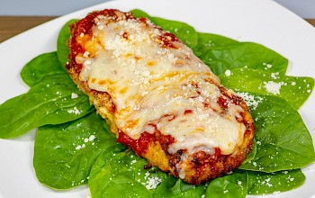 Chicken parmesan - calories, nutrition, weight
