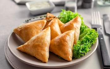 Samosa - calories, nutrition, weight