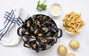 Mussels - calories, nutrition, weight