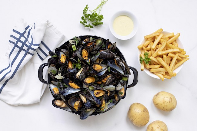 Mussels - calories, kcal