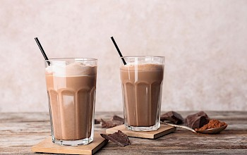 Chocolate milk shake - calories, nutrition, weight