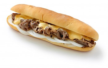Philly cheesesteak - calories, nutrition, weight