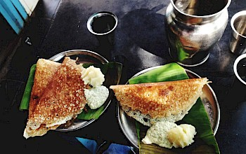 Dosa with filling - calories, nutrition, weight