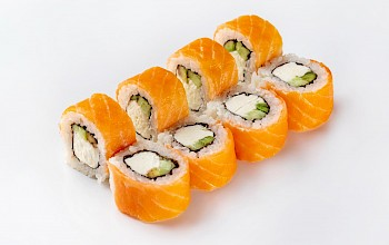 Philadelphia sushi roll - calories, nutrition, weight
