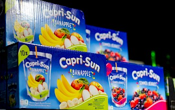Capri Sun drink - calories, nutrition, weight