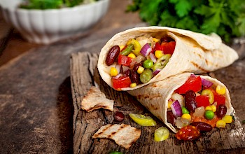 Vegetable Fajita  - calories, nutrition, weight