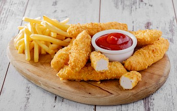 Chicken fingers - calories, nutrition, weight