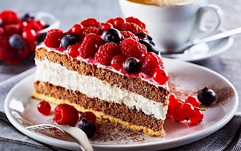 Torte cake - calories, nutrition, weight