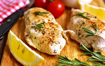 Baked chicken breast - calories, nutrition, weight