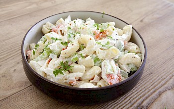Crab salad - calories, nutrition, weight