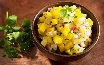 Pineapple salad - calories, nutrition, weight