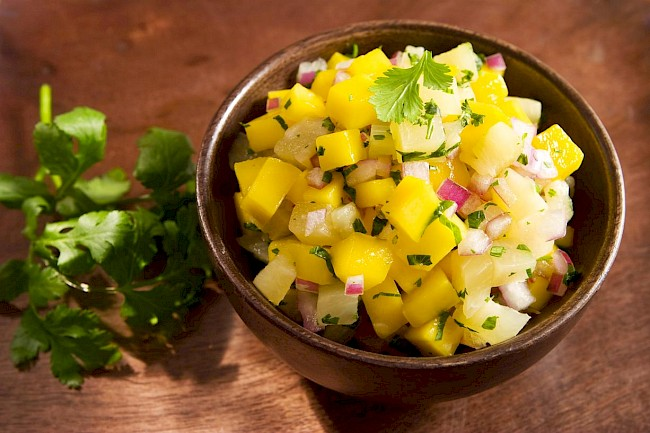 Pineapple salad - calories, kcal