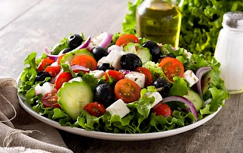 Greek salad - calories, nutrition, weight