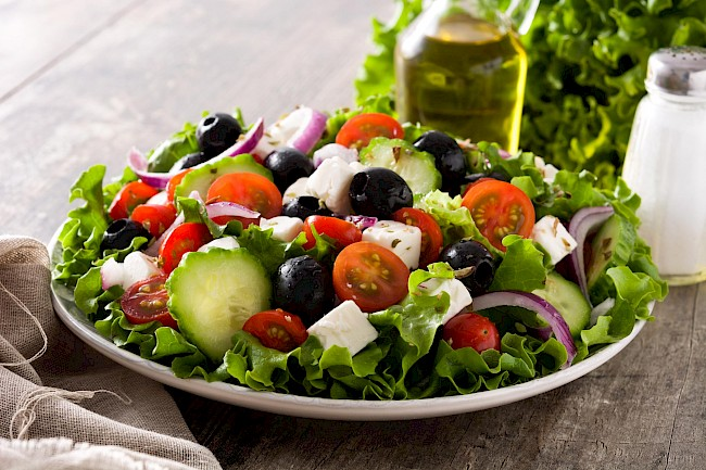 Greek salad - calories, kcal