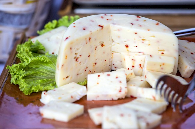 Pepper jack cheese - calories, kcal