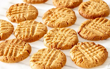 Peanut butter cookies - calories, nutrition, weight