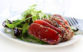 Ahi Tuna - calories, nutrition, weight