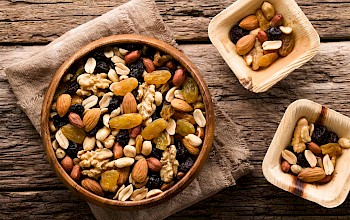 Trail mix - calories, nutrition, weight