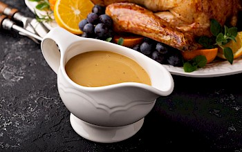 Gravy - calories, nutrition, weight
