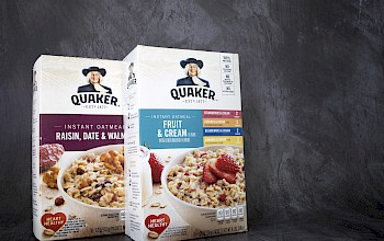 Quaker Oatmeal - calories, nutrition, weight
