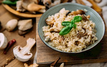 Risotto - calories, nutrition, weight