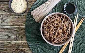 Cooked soba noodles - calories, nutrition, weight