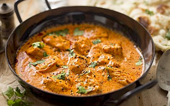 Butter chicken - calories, nutrition, weight
