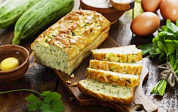 Zucchini bread - calories, nutrition, weight