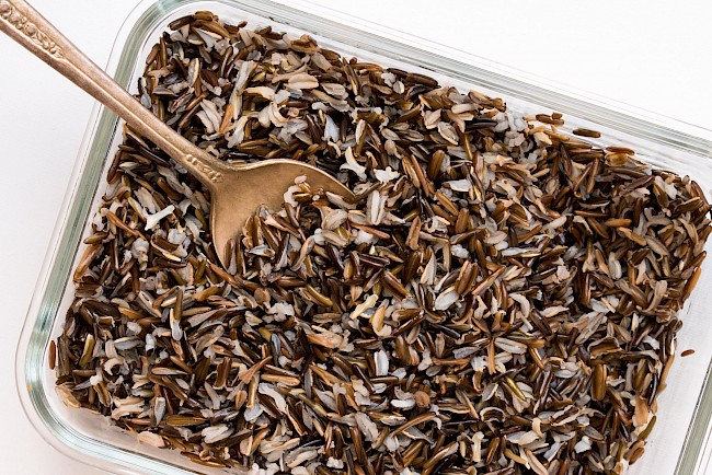 Cooked wild rice - calories, kcal