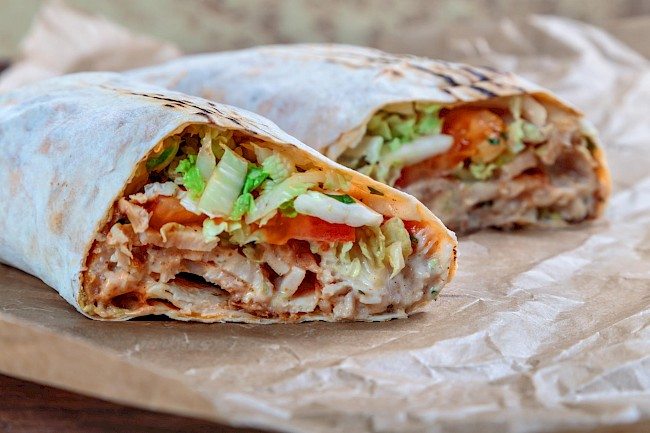 Chicken shawarma - calories, kcal