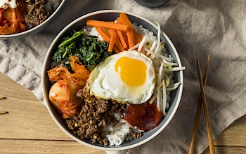 Bibimbap - calories, nutrition, weight