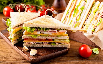Club sandwich - calories, nutrition, weight