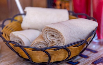 Injera - calories, nutrition, weight